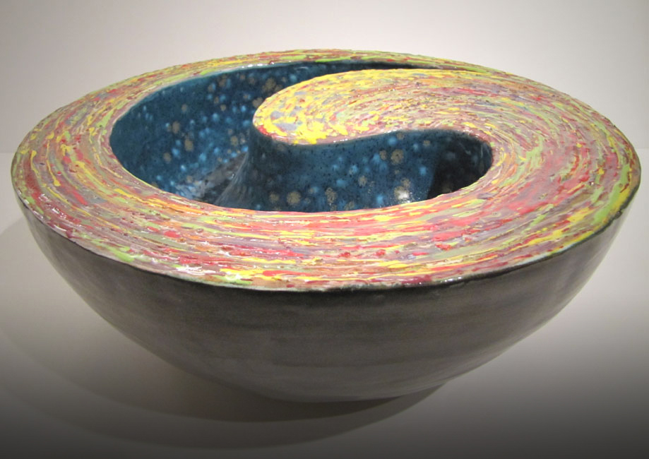 """The Dance"" - Double Walled Ceramic Vessel"
