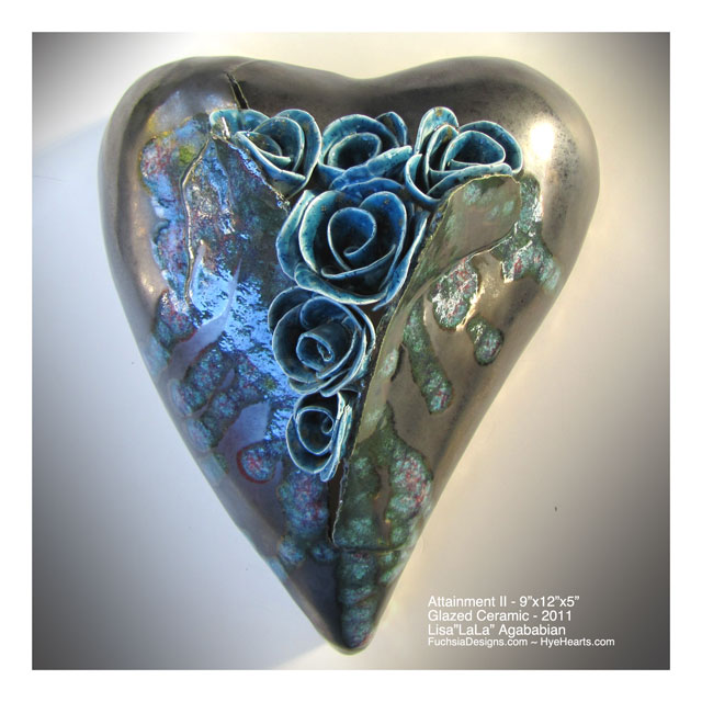 Zoom Large Heart Wall Hanging.  Be sure to scroll down to see image detail.