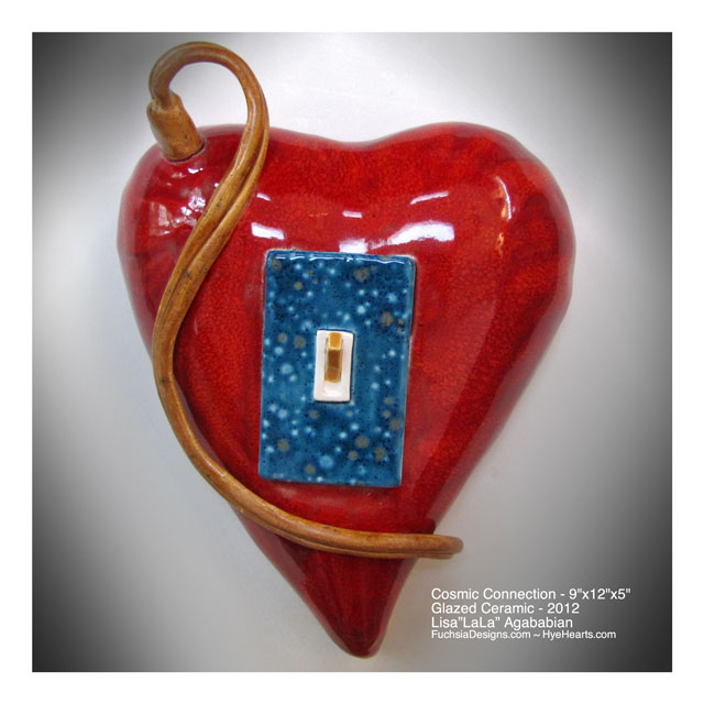 Zoom Large Heart Wall 		Hanging