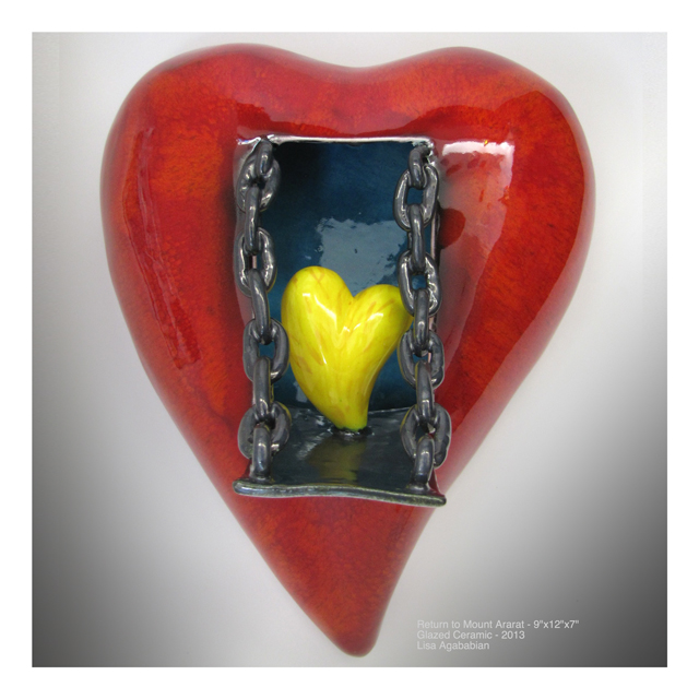 Drawbridge Large Heart Wall Hanging