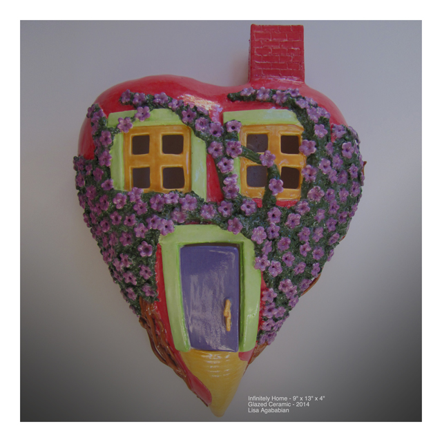 Home Large Heart Wall Sculpture