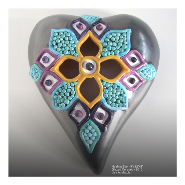 Healing Eye Wall Heart Hanging