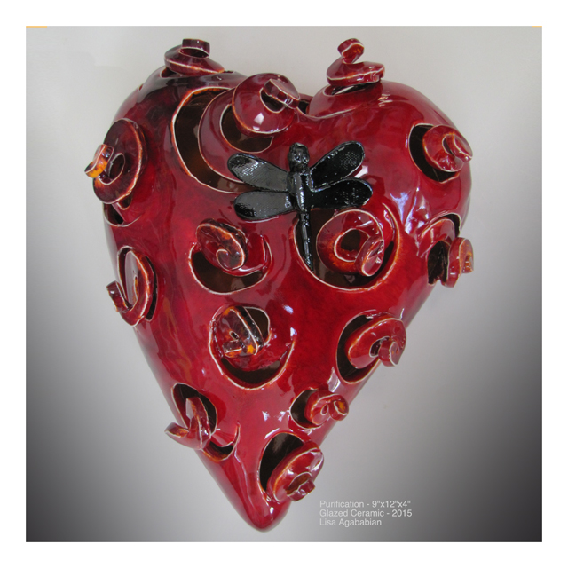 2015 Purification (2012 Revison) Large Heart Wall Hanging