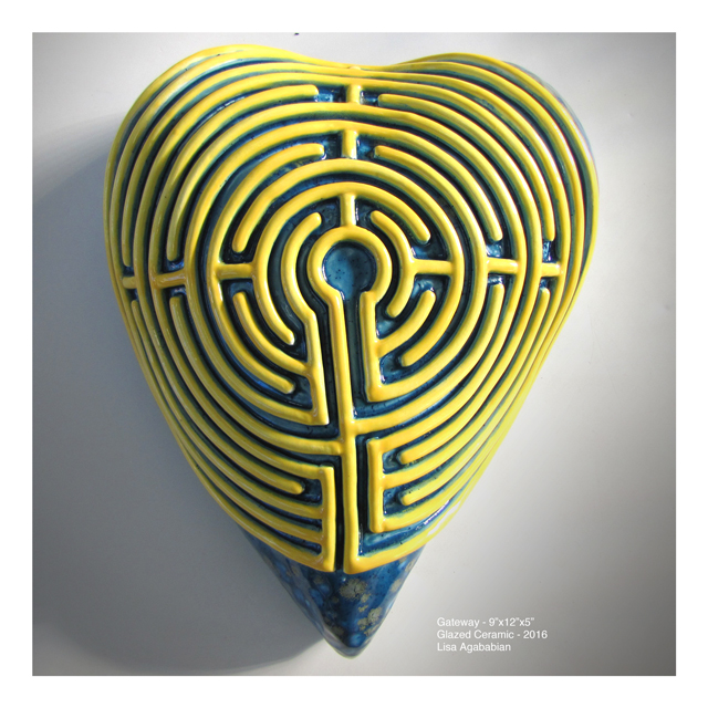 2016 Gateway aka Labyrinths Large Heart