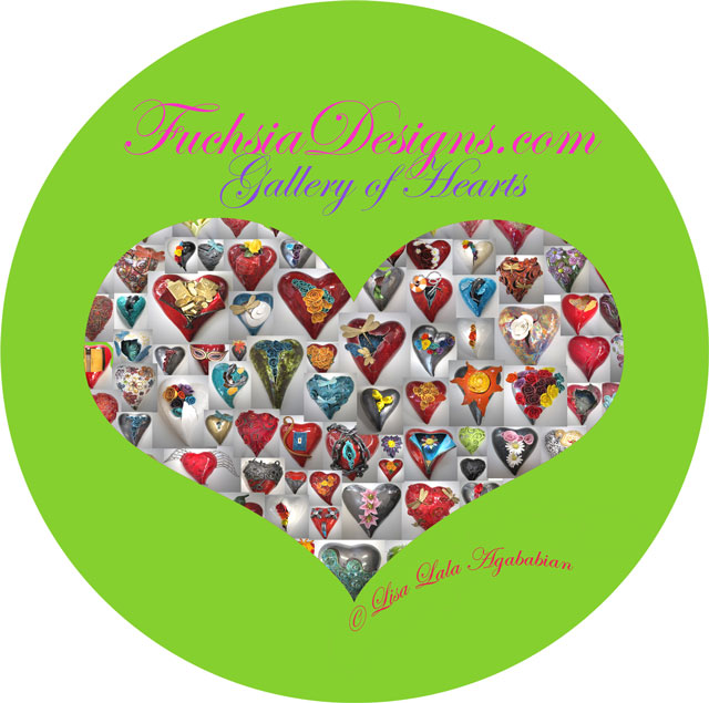 2016 Gallery Of Hearts Sticker