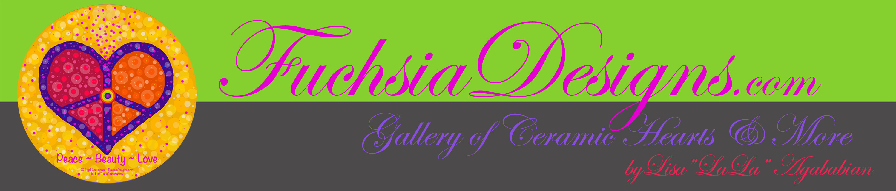 FuchsiaDesigns.com Banner and Link to Home Page