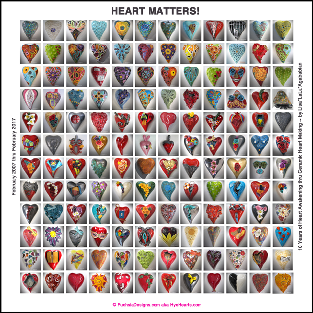 2017 Heart/Love/You Matter Poster Celebrating 10 Years