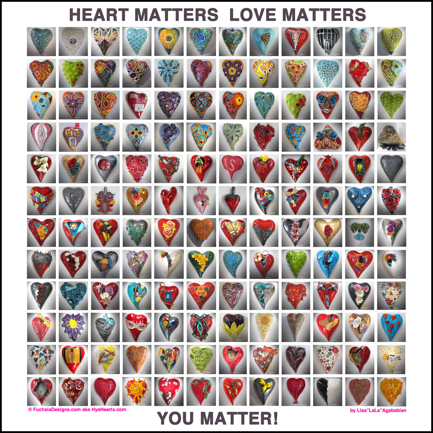 2017 Heart Matters Love Matters You Matter
